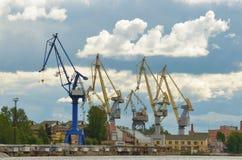 Η βιομηχανική περιοχή της πόλης Στοκ φωτογραφία με δικαίωμα ελεύθερης χρήσης