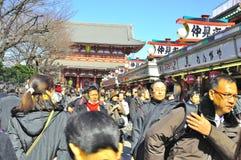 η βουδιστική λάρνακα sensoji asakusa Στοκ φωτογραφίες με δικαίωμα ελεύθερης χρήσης