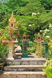 Η βουδιστική λάρνακα, Ταϊλάνδη Στοκ Εικόνες