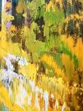 Η βούρτσα έργου τέχνης κτυπά τη λεπτομέρεια Στοκ Εικόνα