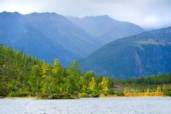 Η βροχή βουνών Στοκ Εικόνες