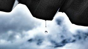 Η βροχή πέφτει Στοκ Εικόνες