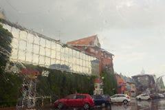 η βροχή Σύδνεϋ φωτογραφιών πόλεων της Αυστραλίας nsw πήρε Στοκ εικόνες με δικαίωμα ελεύθερης χρήσης