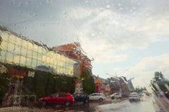 η βροχή Σύδνεϋ φωτογραφιών πόλεων της Αυστραλίας nsw πήρε Στοκ Εικόνα