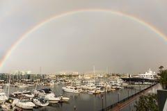 Η βροχή χτυπά νότια Καλιφόρνια Στοκ Φωτογραφίες