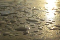 Η βροχή Στοκ εικόνα με δικαίωμα ελεύθερης χρήσης