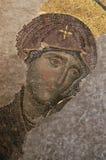 η βυζαντινή Virgin Στοκ Φωτογραφίες