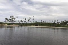 Η βόρεια ακτή, Rio Grande κάνει Norte, Βραζιλία Στοκ φωτογραφία με δικαίωμα ελεύθερης χρήσης