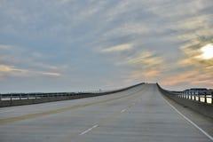 Η βόρεια Καρολίνα ΗΠΑ τολμά εξωτερική γέφυρα τραπεζών νομών στοκ φωτογραφίες