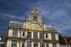 Η Γάνδη Βέλγιο είναι ένα όμορφο παλαιό κτήριο Στοκ φωτογραφία με δικαίωμα ελεύθερης χρήσης