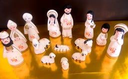 Η γέννηση του Θεού παιδιών στοκ εικόνες