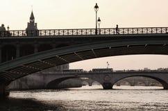 η γέφυρα αναφέρει το απλάδ&i Στοκ Φωτογραφία