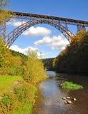 η γέφυρα Γερμανία Στοκ Εικόνα