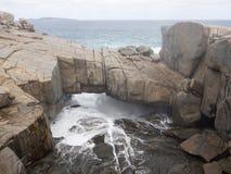 Η γέφυρα, εθνικό πάρκο Torndirrup, δυτική Αυστραλία Στοκ Εικόνες