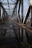 Η γέφυρα επεξεργασμένου σιδήρου Στοκ φωτογραφία με δικαίωμα ελεύθερης χρήσης