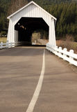 η γέφυρα κάλυψε ιστορικό Στοκ φωτογραφία με δικαίωμα ελεύθερης χρήσης