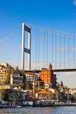 η γέφυρα κρεμά Στοκ Φωτογραφίες