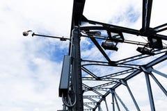 η γέφυρα κλέβει Στοκ Φωτογραφία