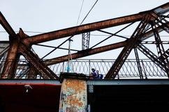η γέφυρα μακριά Στοκ Εικόνα