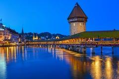 Η γέφυρα παρεκκλησιών Στοκ εικόνες με δικαίωμα ελεύθερης χρήσης