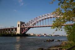 Η γέφυρα πυλών κόλασης, Νέα Υόρκη Στοκ φωτογραφία με δικαίωμα ελεύθερης χρήσης