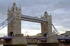 Η γέφυρα πύργων, Λονδίνο, Αγγλία Στοκ φωτογραφία με δικαίωμα ελεύθερης χρήσης