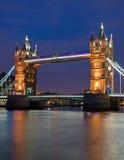 Η γέφυρα πύργων στο Λονδίνο Στοκ Εικόνες