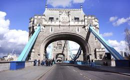 Η γέφυρα πύργων του Λονδίνου Στοκ Φωτογραφία