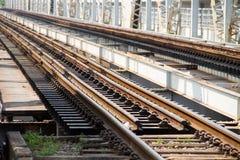Η γέφυρα σιδηροδρόμων Στοκ Φωτογραφία