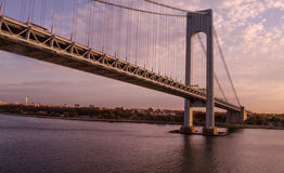η γέφυρα στενεύει το verrazano Στοκ φωτογραφία με δικαίωμα ελεύθερης χρήσης