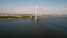 η γέφυρα στενεύει το verrazano απόθεμα βίντεο