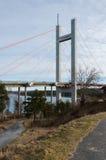 Η γέφυρα στο νησί tjorn Στοκ Φωτογραφία