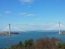 3$η γέφυρα της Τουρκίας Στοκ Εικόνες