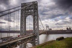Η γέφυρα του George Washington στοκ φωτογραφία με δικαίωμα ελεύθερης χρήσης