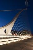 Η γέφυρα του Samuel Beckett Στοκ φωτογραφίες με δικαίωμα ελεύθερης χρήσης