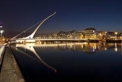 Η γέφυρα του Samuel Beckett Στοκ Φωτογραφίες
