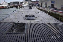 Η γέφυρα του USS Pompanito, SS-383, 6 Στοκ Εικόνες