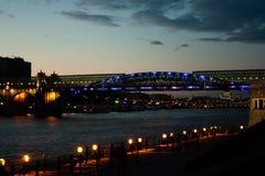 Η γέφυρα Στοκ φωτογραφία με δικαίωμα ελεύθερης χρήσης
