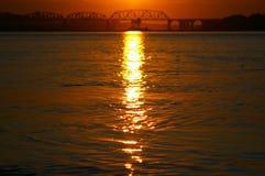Η γέφυρα Στοκ Φωτογραφίες