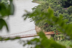 Η γέφυρα στοκ εικόνα με δικαίωμα ελεύθερης χρήσης