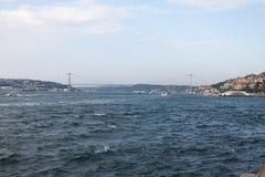 Η γέφυρα Bosphorus, στην Κωνσταντινούπολη Στοκ φωτογραφίες με δικαίωμα ελεύθερης χρήσης
