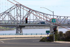 Η γέφυρα Carquinez σε βόρεια Καλιφόρνια Στοκ φωτογραφία με δικαίωμα ελεύθερης χρήσης