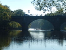 Η γέφυρα Ericht Στοκ φωτογραφία με δικαίωμα ελεύθερης χρήσης