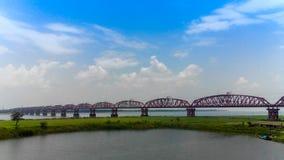 Η γέφυρα Hardinge Στοκ Εικόνες