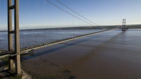 Η γέφυρα Humber, Κίνγκστον επάνω στο Hull Στοκ εικόνα με δικαίωμα ελεύθερης χρήσης
