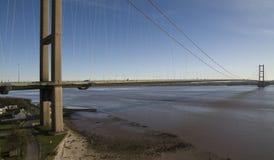 Η γέφυρα Humber, Κίνγκστον επάνω στο Hull Στοκ Φωτογραφίες