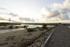Η γέφυρα Newton Navarro, γενέθλια, RN, Βραζιλία Στοκ φωτογραφία με δικαίωμα ελεύθερης χρήσης