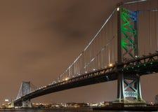Γέφυρα του Benjamin Franklin Στοκ Φωτογραφία