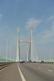 Η γέφυρα Severn Στοκ φωτογραφία με δικαίωμα ελεύθερης χρήσης