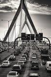 Η γέφυρα Zakim Στοκ Φωτογραφία
